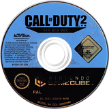 Call of Duty 2: Big Red One GameCube disc (GQCD52)