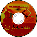 Red Faction II GameCube disc (GRFD78)