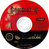 Summoner: A Goddess Reborn GameCube disc (GS2D78)