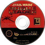 Star Wars Rogue Leader:Rogue Squadron II GameCube disc (GSWD64)