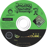 Harvest Moon: A Wonderful Life GameCube disc (GYWDE9)