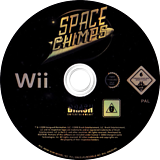 Space Chimps: Affen Im All Wii disc (RP9PRS)