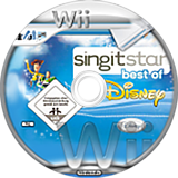 SingItStar Best of Disney CUSTOM disc (SBOD3Q)