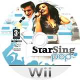 StarSing:Pop Part. I v2.0 CUSTOM disc (CS0PZZ)