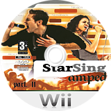 StarSing:Amped Part. II v2.1 CUSTOM disc (CT7P00)