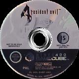 Resident Evil 4: Bonus Disc GameCube disc (D4BP01)