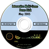 Interactive Multi-Game Demo Disc - May 2005 GameCube disc (D79P01)