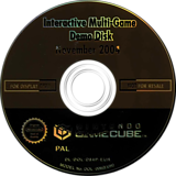 Interactive Multi-Game Demo Disc - November 2004 GameCube disc (D84P01)