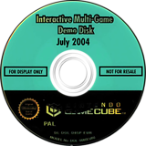 Interactive Multi-Game Demo Disc - July 2004 GameCube disc (D85P01)