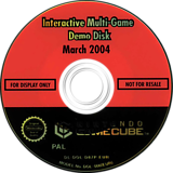 Interactive Multi-Game Demo Disc - March 2004 GameCube disc (D87P01)