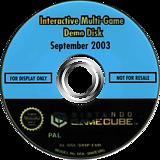 Interactive Multi-Game Demo Disc - September 2003 GameCube disc (D89P01)
