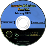 Interactive Multi-Game Demo Disc - February 2003 GameCube disc (D94P01)