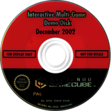 Interactive Multi-Game Demo Disc - December 2002 GameCube disc (D95P01)