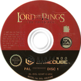 The Lord of the Rings: The Third Age GameCube disc (G3AP69)