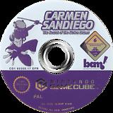 Carmen Sandiego: The Secret of the Stolen Drums GameCube disc (G3DP6L)