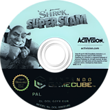 Shrek Super Slam GameCube disc (G3YX52)