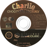 Charlie and the Chocolate Factory GameCube disc (G4CP54)