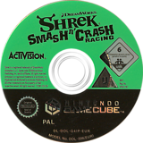 Shrek Smash n' Crash Racing GameCube disc (G4IP52)