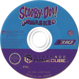 Scooby-Doo! - Unmasked GameCube disc (G5DP78)