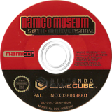 Namco Museum 50th Anniversary GameCube disc (G5NP69)