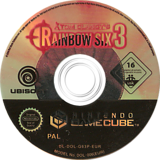 Tom Clancy's Rainbow Six 3 GameCube disc (G63P41)