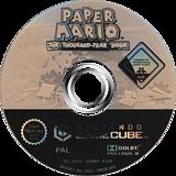 Paper Mario: The Thousand-Year Door GameCube disc (G8MP01)