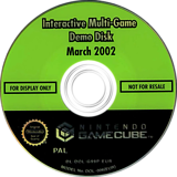 Interactive Multi-Game Demo Disc - March 2002 GameCube disc (G99P01)