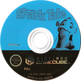 Shark Tale GameCube disc (G9TP52)