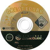 Animaniacs: The Great Edgar Hunt GameCube disc (GANP7U)