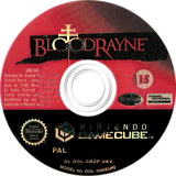 BloodRayne GameCube disc (GBDP7D)