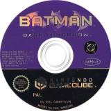 Batman: Dark Tomorrow GameCube disc (GBMP7F)