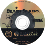Beach Spikers: Virtua Beach Volleyball GameCube disc (GBSP8P)
