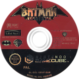 Batman Vengeance GameCube disc (GBVP41)