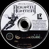 Star Wars Bounty Hunter GameCube disc (GBWD64)