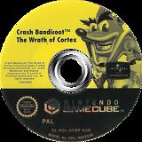 Crash Bandicoot: The Wrath of Cortex GameCube disc (GCBP7D)