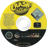 Crash Nitro Kart GameCube disc (GCNP7D)