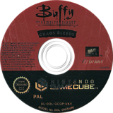 Buffy The Vampire Slayer Chaos Bleeds GameCube disc (GCQP7D)