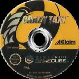 Crazy Taxi GameCube disc (GCTP51)