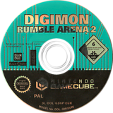 Digimon Rumble Arena 2 GameCube disc (GD6P70)