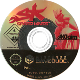 Speed Kings GameCube disc (GDCP51)