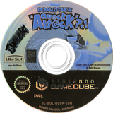 Disney's Donald Duck: Qu@ck Att@ck GameCube disc (GDDP41)