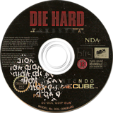 Die Hard: Vendetta GameCube disc (GDIP7D)