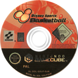 Disney Sports: Basketball GameCube disc (GDLPA4)