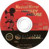 Disney's Magical Mirror Starring Mickey Mouse GameCube disc (GDMP01)