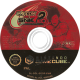 Capcom vs. SNK 2 EO: Millionaire Fighting 2001 GameCube disc (GEOP08)