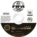FIFA Football 2005 GameCube disc (GF5P69)