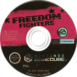 Freedom Fighters GameCube disc (GFDP69)