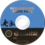 Neighbours From Hell GameCube disc (GFHP6V)