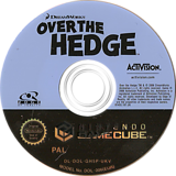 Over The Hedge GameCube disc (GH5P52)