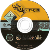 The Simpsons: Hit & Run GameCube disc (GHQP7D)